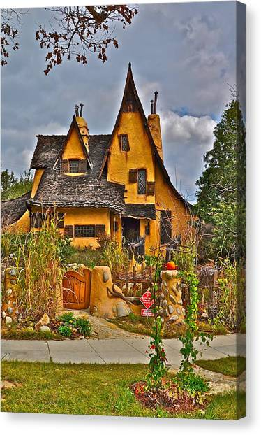 Witches House Canvas Print