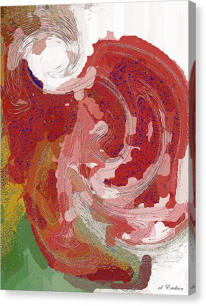 With A Swirl Of Skirt Canvas Print by Roy Erickson