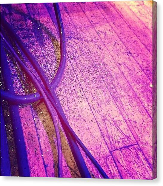 Unicorns Canvas Print - with Glitterrrr!! #fiveironfrenzy by Amy Fox