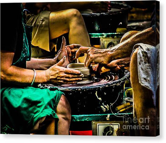 With These Hands.... Canvas Print