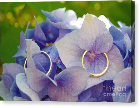 With This Ring  Canvas Print