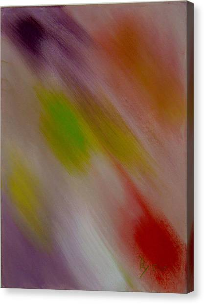 Within The Rainbow Canvas Print