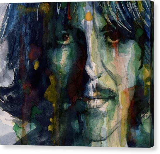 George Harrison Canvas Print - Within You Without You by Paul Lovering