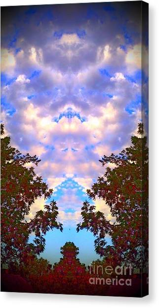 Wizards In The Clouds Canvas Print