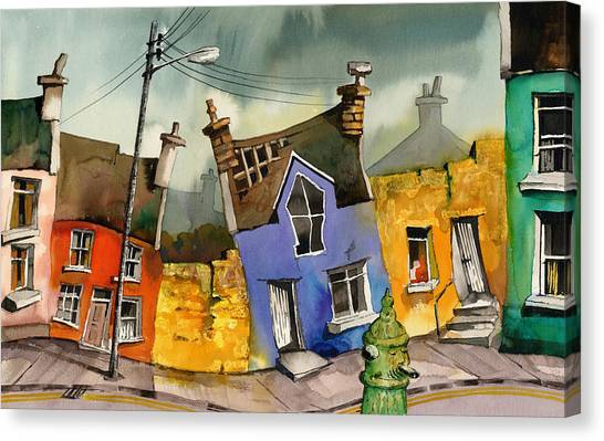Wobbly Ardgroom In Glorious Technicolour Canvas Print