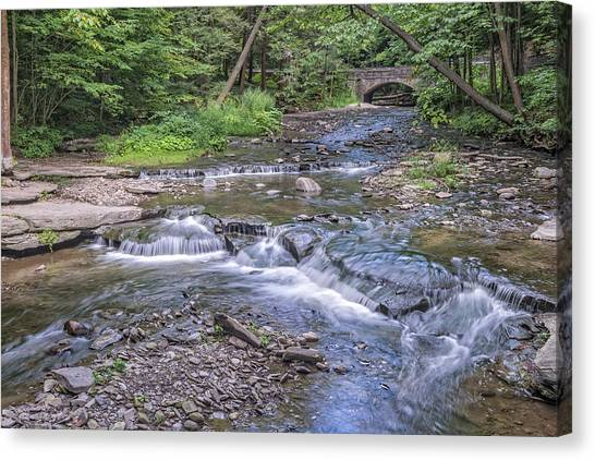 Wolf Creek At Letchworth State Park Canvas Print