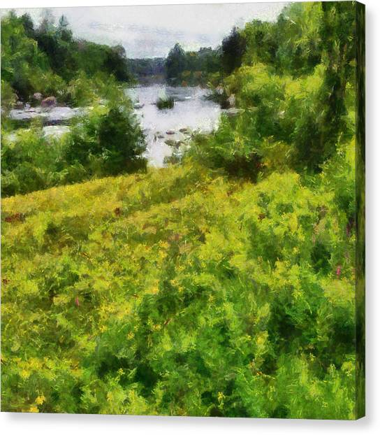 Wolf River Canvas Print