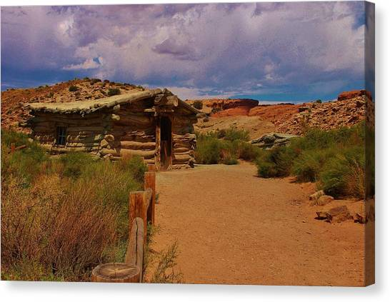 Brown Ranch Trail Canvas Print - Wolfe Ranch by Dany Lison