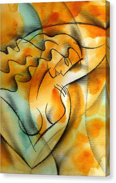 Health Care Canvas Print - Woman Health by Leon Zernitsky