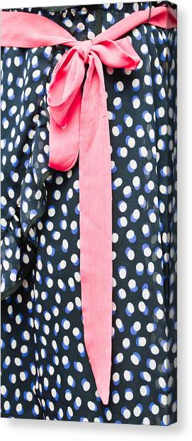 Red Knot Canvas Print - Woman's Dress by Tom Gowanlock