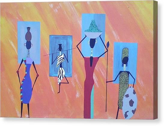 Women Of Color Canvas Print