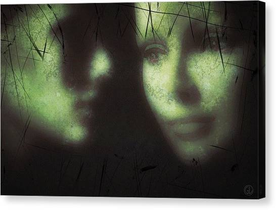 Profile Canvas Print - Women Secrets by Gun Legler