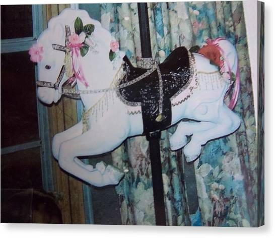 Wonder Horse Canvas Print by Rosalie Klidies