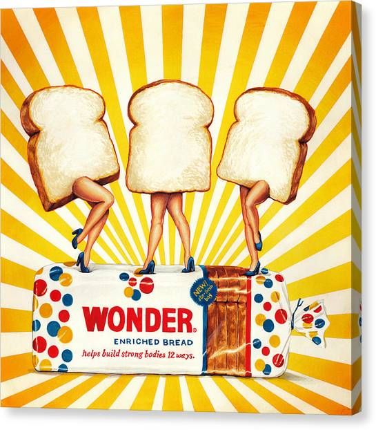 Retro Canvas Print - Wonder Women by Kelly Gilleran