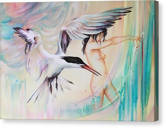 Wonderers Canvas Print