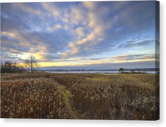 Wonderful Sunset Canvas Print
