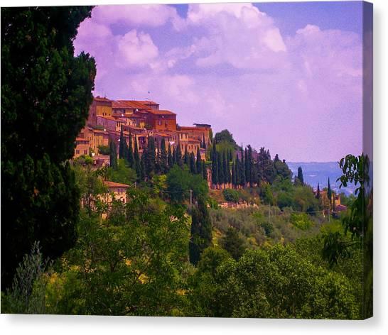 Wonderful Tuscany Canvas Print