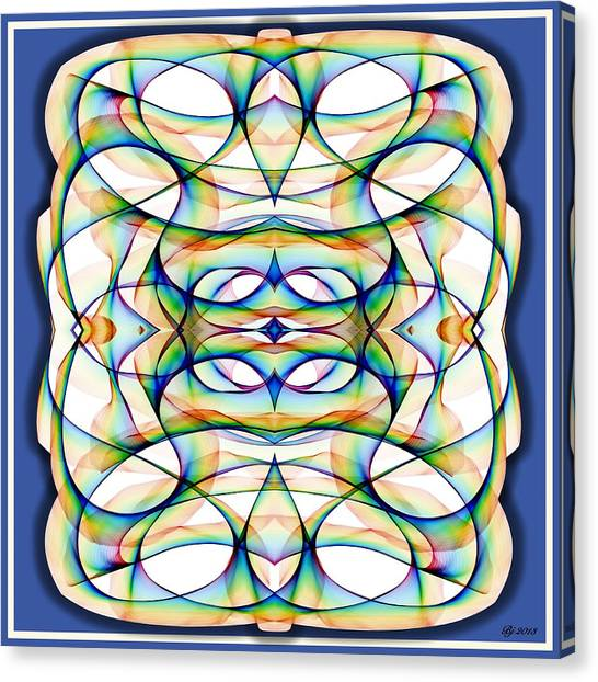 Wondering Path Canvas Print