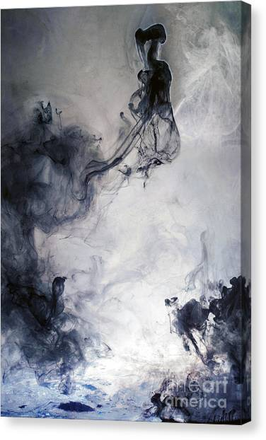 Wonderwoman Canvas Print by Petros Yiannakas
