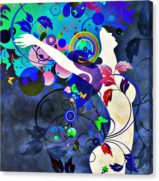 Wondrous Night Canvas Print