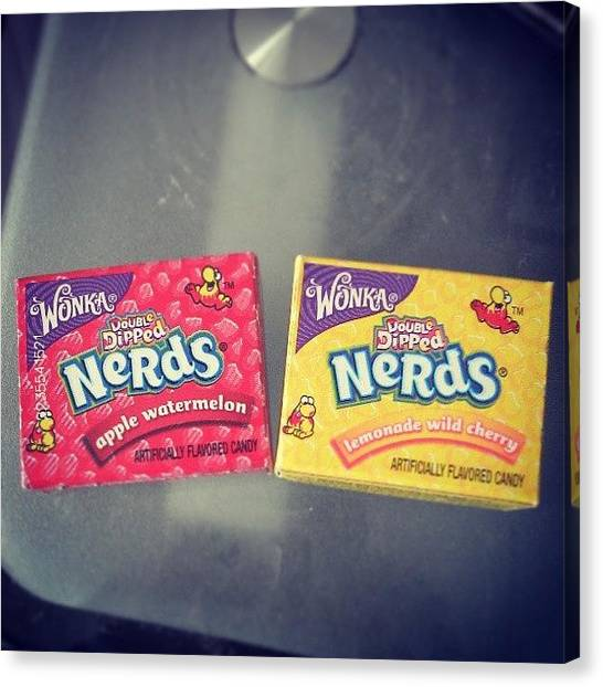 Watermelons Canvas Print - Wonka Nerds. #american #candy #wonka by Maxx Parker