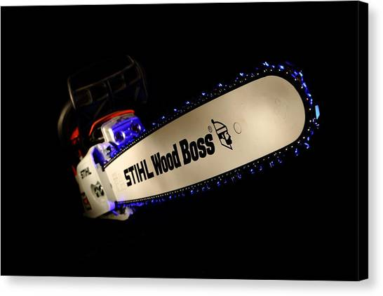 Wood Boss Canvas Print