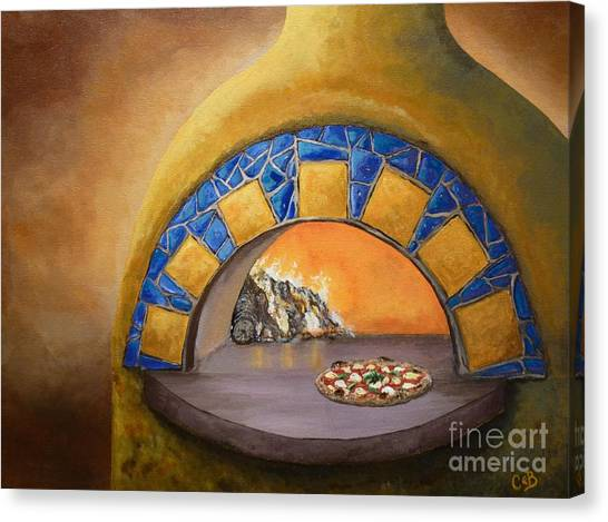 Wood Fired Canvas Print