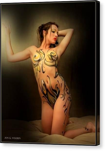 Wood Nymph Canvas Print