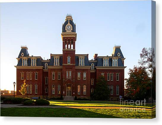Woodburn Hall Late Afternoon Sun Canvas Print