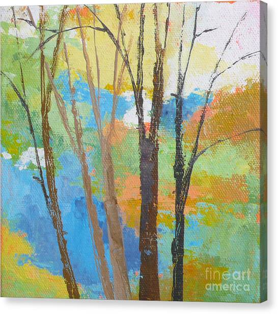 Woodland #1 Canvas Print by Melody Cleary