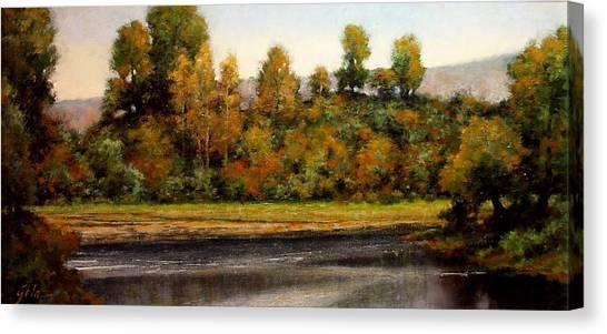 Canvas Print - Woodland Bottoms #15 by Jim Gola