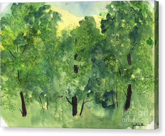 Woodland Haven II Canvas Print