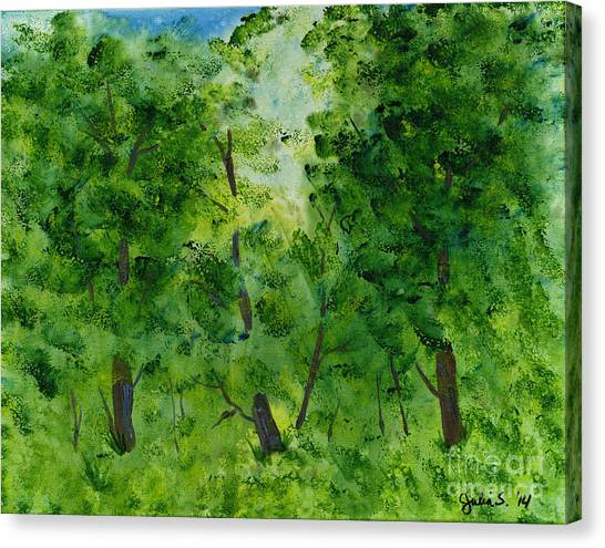 Woodland Haven Canvas Print
