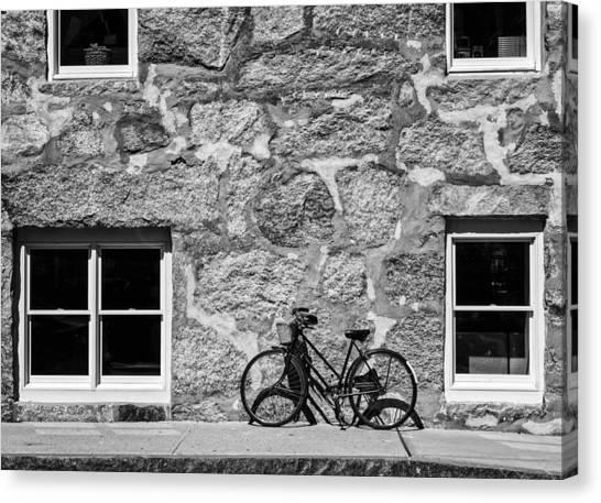 Woods Hole Bike Wall Canvas Print