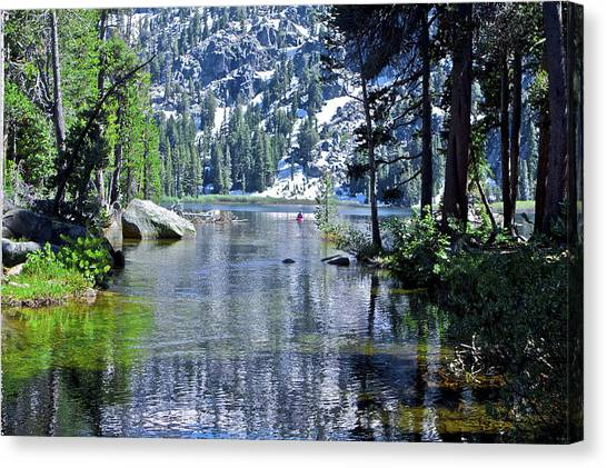Woods Lake Canvas Print