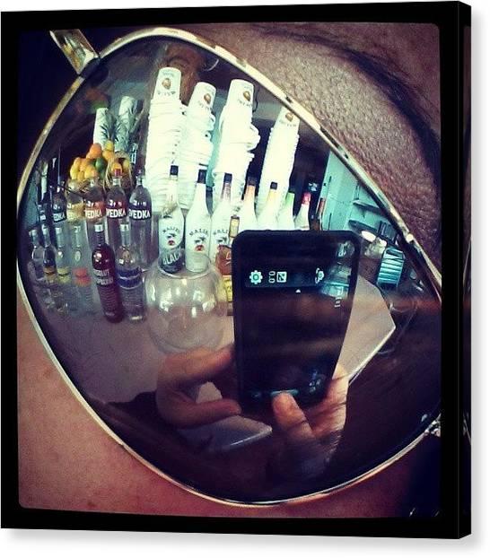 Liquor Canvas Print - #work #lol #liquor #fruit #dayatthebeach by Mandy Shupp