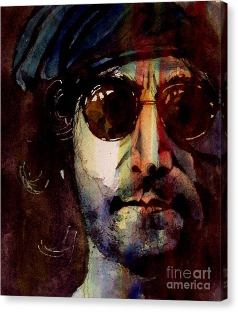 The Beatles Canvas Print - Working Class Hero by Paul Lovering