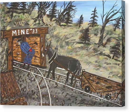 Canvas Print -  The Coal Mine by Jeffrey Koss