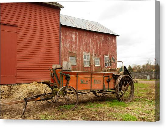 Working Wagon Canvas Print