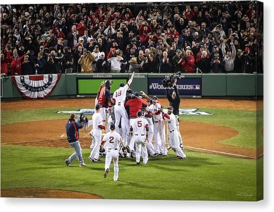 World Series Game Six 5 Canvas Print