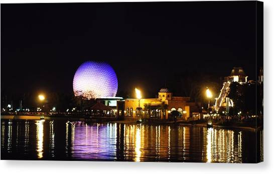 World Showcase 2 Canvas Print