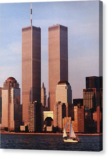 World Trade Center 1999 Canvas Print