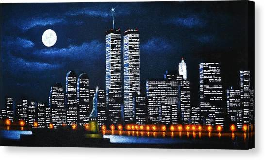 World Trade Center Buildings Canvas Print