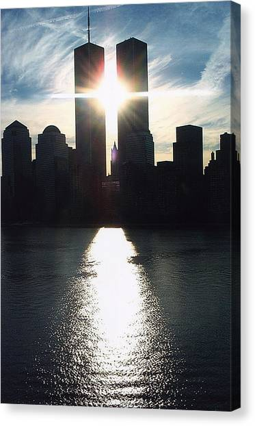 World Trade Center Towers Canvas Print