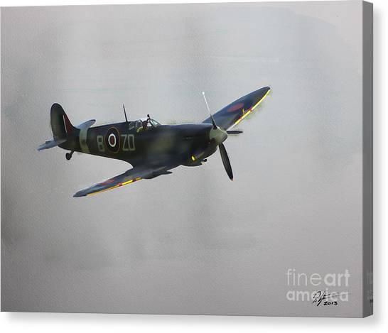 World War 2 Spitfire Canvas Print