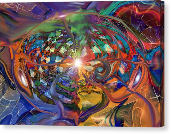 World Within A World Canvas Print