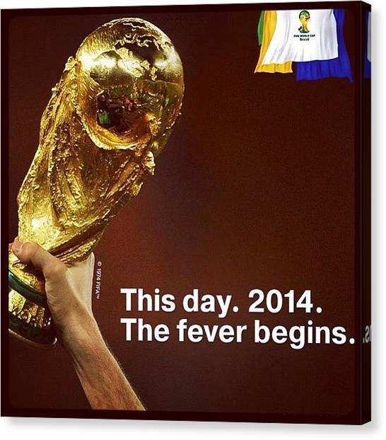 World Cup Canvas Print - World Cup 2014  by Oscar Lopez