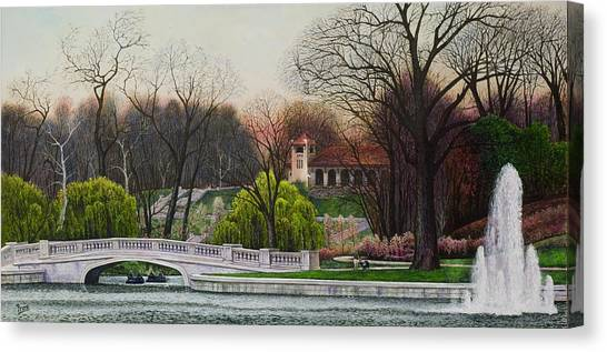 World's Fair Pavilion Canvas Print