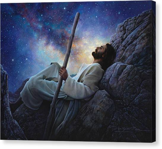 Christian Canvas Print - Worlds Without End by Greg Olsen