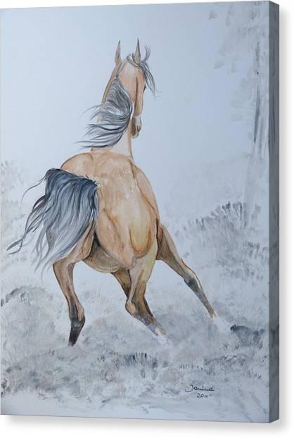Wow Canvas Print by Janina  Suuronen